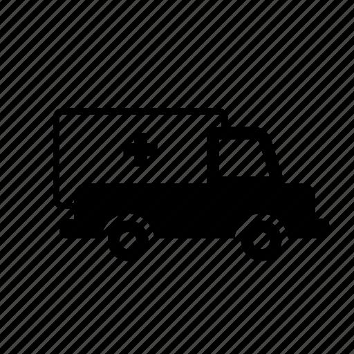 ambulance, transport, transportation, travel icon