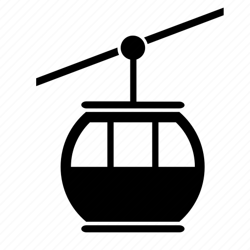 cable, gondola, transport, transportation, travel icon