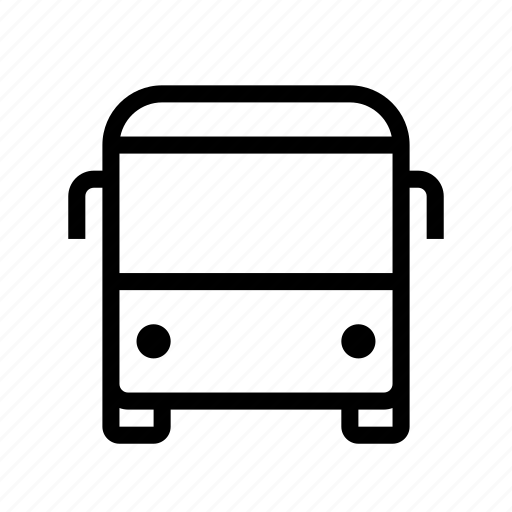 autobus, bus, public, transport, transportation, travel, vehicle icon