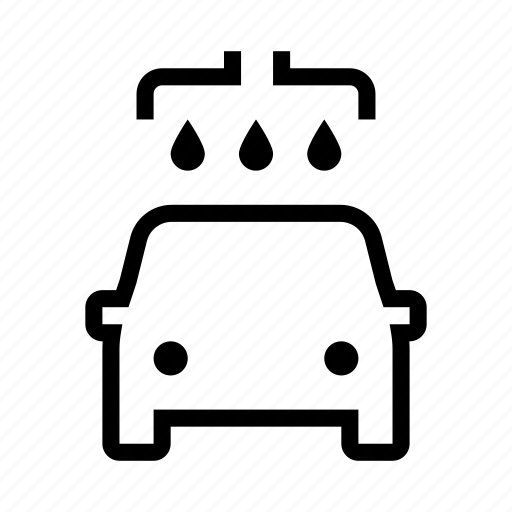 car, clean, cleaning, service, transport, vehicle, wash icon