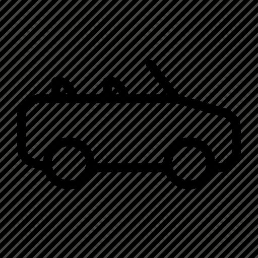 auto, automobile, car, convertible, luxury, travel, vehicle icon