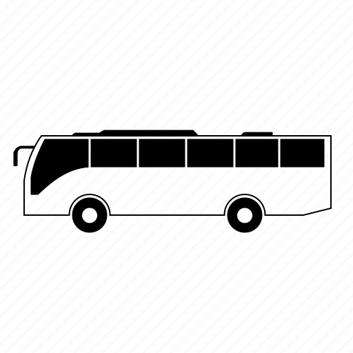 bus, transportation, travel, vehicle icon