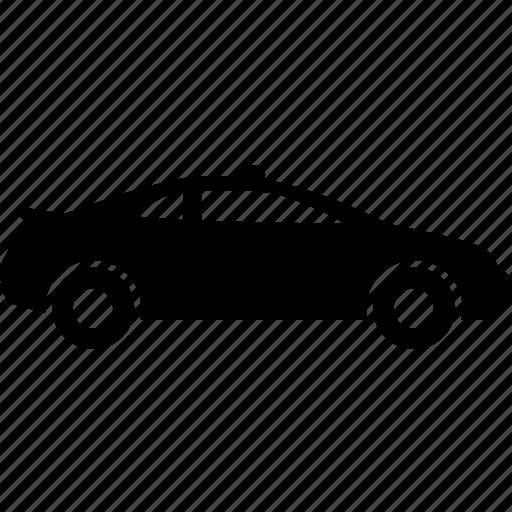 beacon, car, police, police-car icon