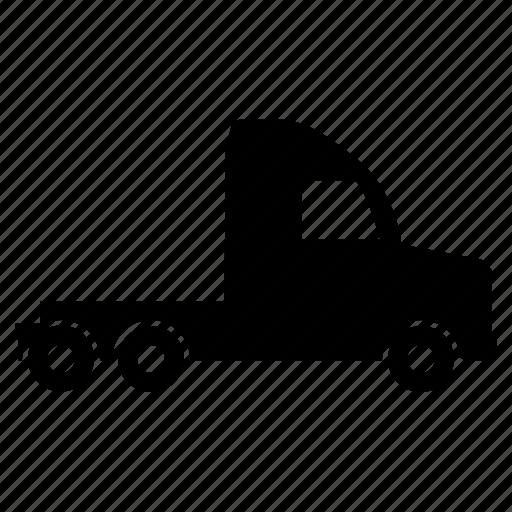 transport, transportation, truck, truck drive, truck-front icon