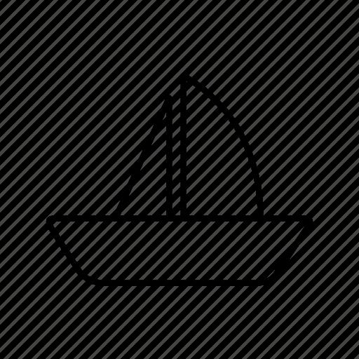boat, sailing, yacht icon