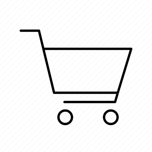 shipping, shopping, trolley icon