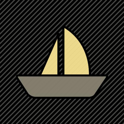 boat, cruise, yacht icon