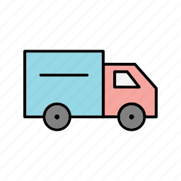 delivery, transport, truck icon