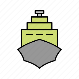 boat, cruise, ship icon