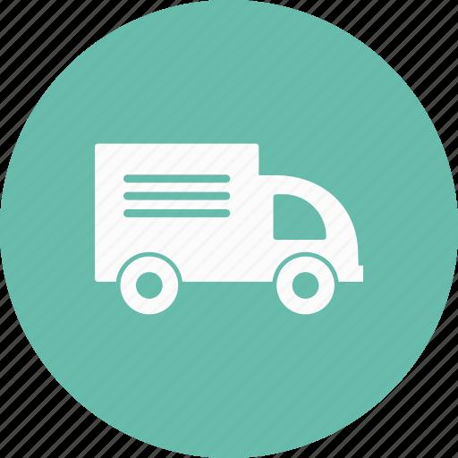 delivery, van, vehicle icon