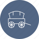 shipping, transport, wagon icon