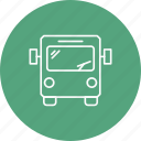 bus, transport, transportation, travel icon