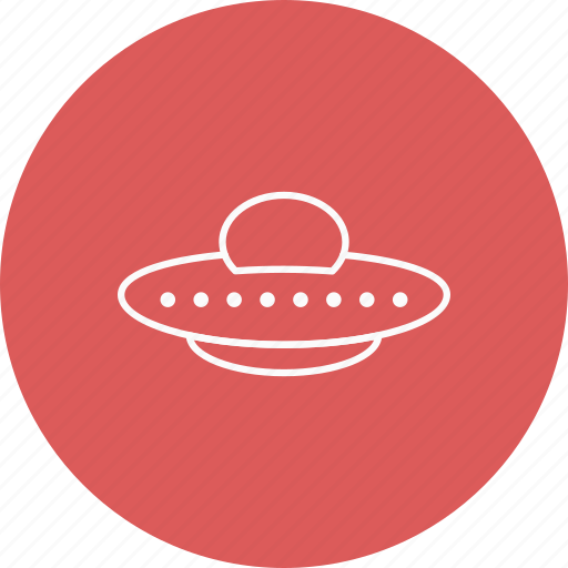 space, spaceship, ufo icon