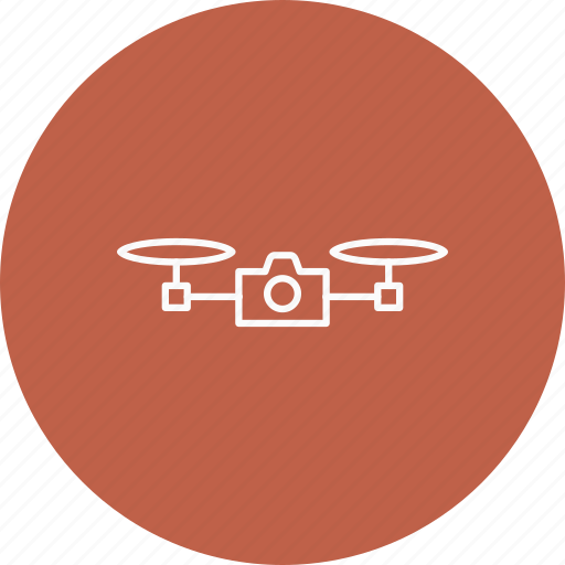 camera, drone, video icon