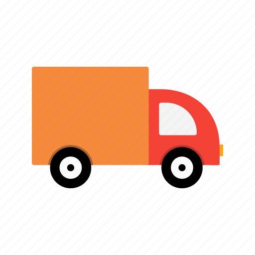 delivery, transport, van icon