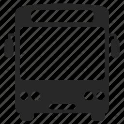 autobus, automobile, bus, motorbus, transport icon