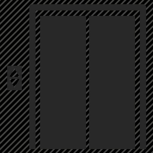 elevator, hoist, lift, lifting, transport icon