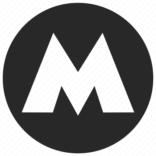 metro, railway, station, subway, underground icon