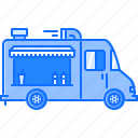 car, food, machine, movement, transport, transportation, truck icon