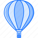 air, balloon, machine, movement, transport, transportation icon