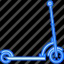 kick, machine, movement, scooter, transport, transportation icon