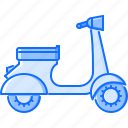 bike, machine, motorcycle, movement, scooter, transport, transportation icon
