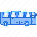 bus, car, machine, movement, transport, transportation icon
