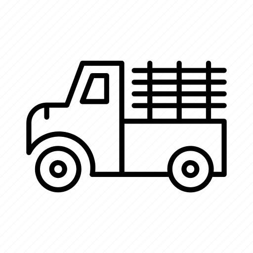 automobile, logistics, ship, transport, truck, vehicle icon
