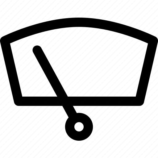 Automobile, car, glass, vehicle, windshield, wipe, wiper icon - Download on Iconfinder
