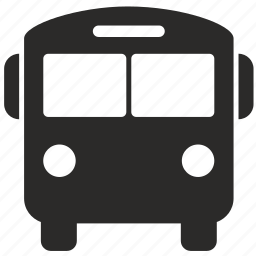 bus, transport icon