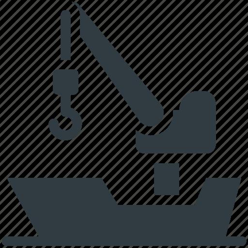 cargo, crane, freight shipping, industrial crane, shipping icon
