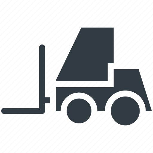 Bendi truck, counterbalanced truck, fork truck, forklift truck, pallet jack icon - Download on Iconfinder