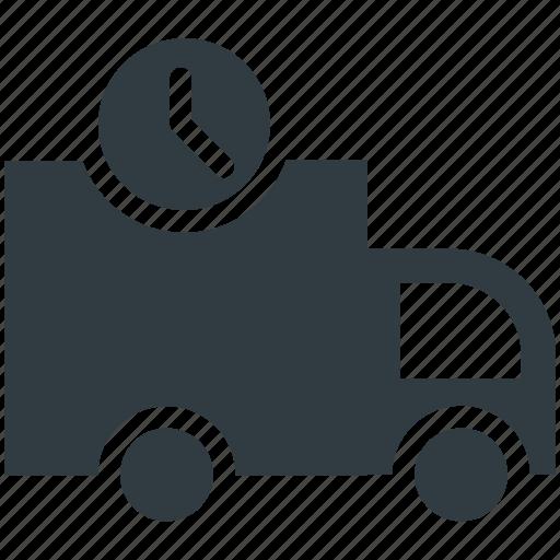 Cargo truck, clock sign, delivery van, hatchback, logistic delivery icon - Download on Iconfinder
