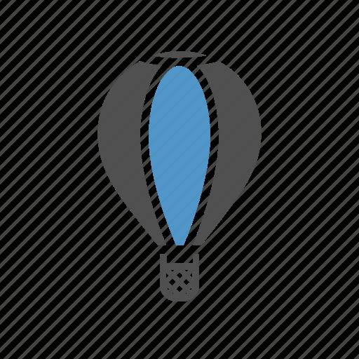 aerostat, air ballon, fly, holiday, passenger transport, travel icon