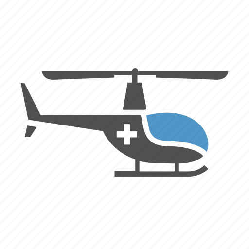 air transport, ambulance, emergency service, helicopter, medical flying, medical rescue icon