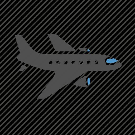 aero vehicle, aeroplane, airbus, aircraft, airliner, passenger transport icon