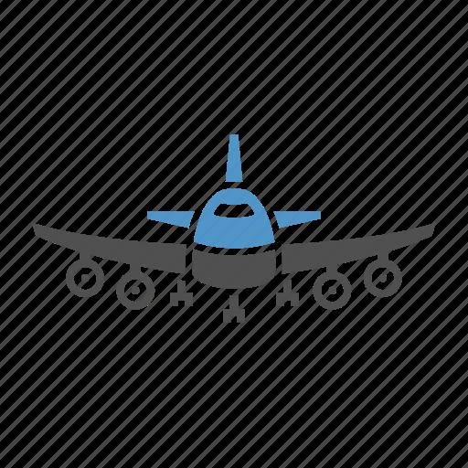 aero vehicle, aeroplane, air transport, airbus, aircraft, airliner, passenger transport icon