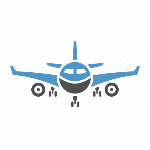 aero vehicle, air transport, airbus, aircraft, airliner, passenger transport icon