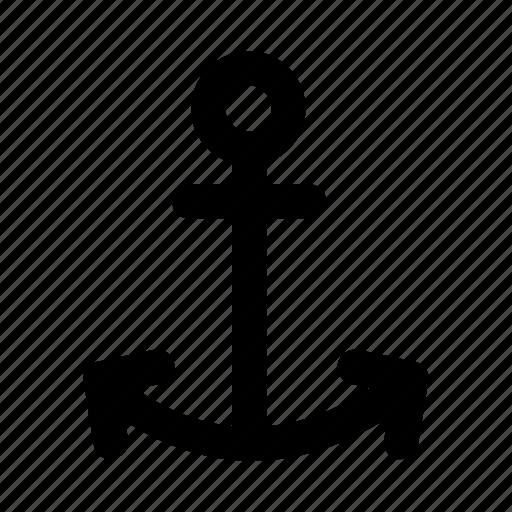 anchor, boat, marine, nautical, ship icon