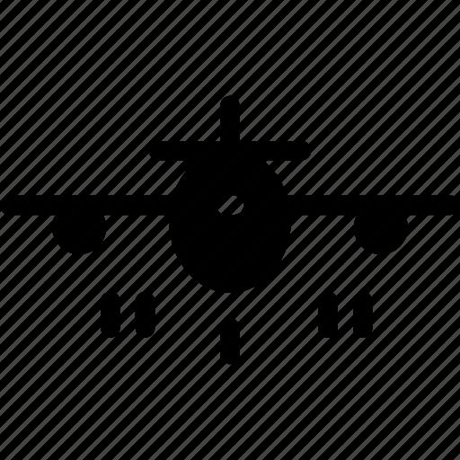 aeroplane, airbus, aircraft, airliner, airplane, airship, plane icon