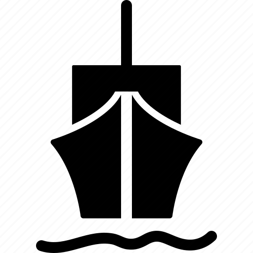 barge, boat, merchant ship, sailboat, ship, vessel, watercraft icon