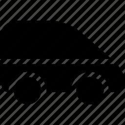 auto, automobile, car, van, vehicle icon