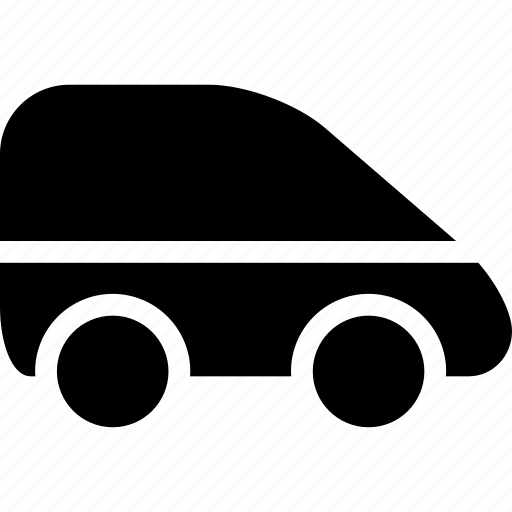 auto, automobile, car, van, vehicle icon