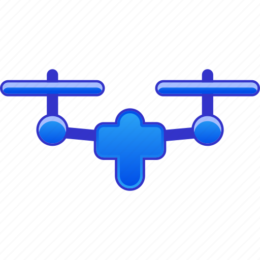 airdrone, copter, flying drone, nanocopter, quadcopter, radio control uav, unmanned aerial vehicle icon