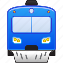 locomotive, railroad, railway, subway, train, transport, vehicle icon