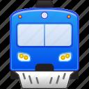 locomotive, railroad, railway, subway, train, transport, vehicle