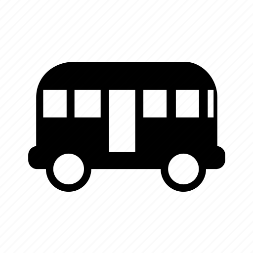 automation, bus, car, service, transportation, travel, vehicle icon