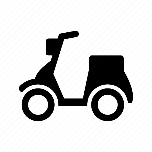 automation, car, moped, scooter, service, transport, vehicle icon