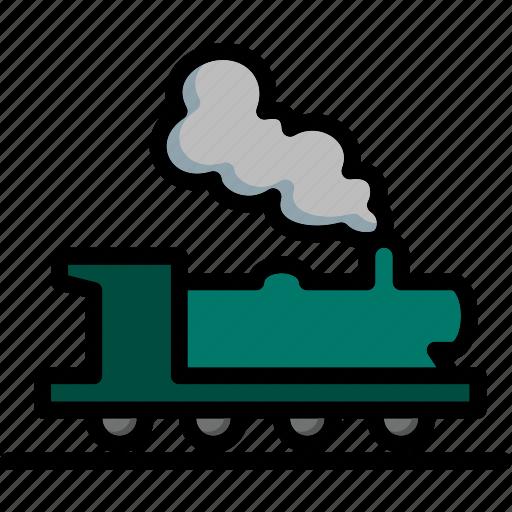 colour, train, transport, ultra icon