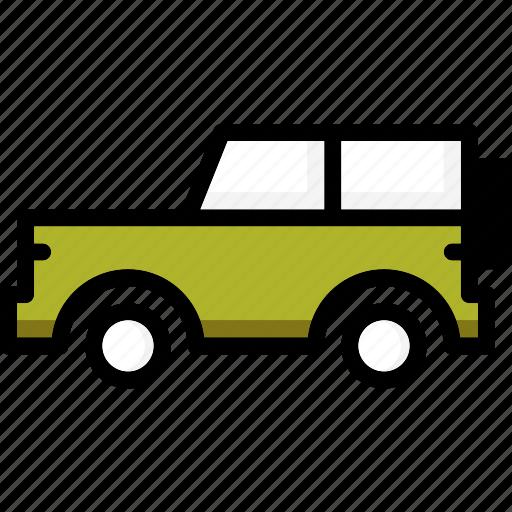 colour, jeep, transport, ultra icon
